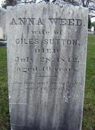 SUTTON, ANNA - Greene County, New York | ANNA SUTTON - New York Gravestone Photos