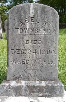 TOWNSEND, ABEL H - Greene County, New York | ABEL H TOWNSEND - New York Gravestone Photos