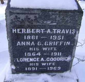 GRIFFIN, ANNA G - Greene County, New York | ANNA G GRIFFIN - New York Gravestone Photos