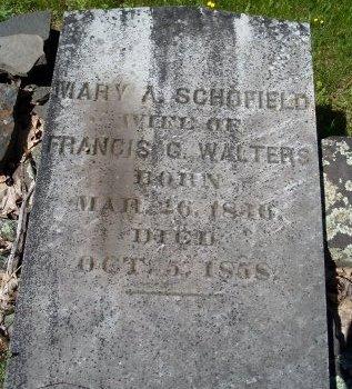 WALTERS, MARY A - Greene County, New York | MARY A WALTERS - New York Gravestone Photos