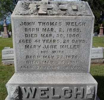 MILLER, MARY JANE - Greene County, New York | MARY JANE MILLER - New York Gravestone Photos