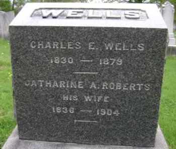 WELLS, CATHARINE A - Greene County, New York   CATHARINE A WELLS - New York Gravestone Photos