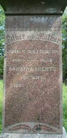 WILLIAMSON, SARAH - Greene County, New York | SARAH WILLIAMSON - New York Gravestone Photos