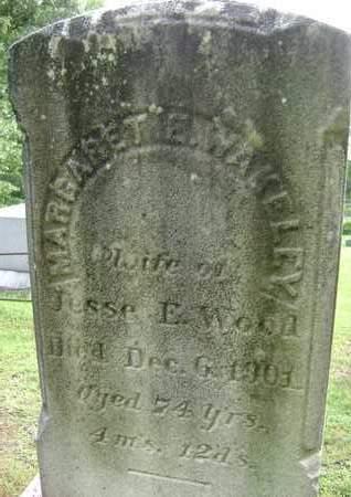 WAKELEY, MARGARET E. - Greene County, New York | MARGARET E. WAKELEY - New York Gravestone Photos
