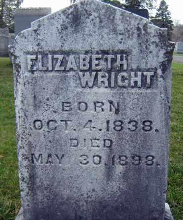 WRIGHT, ELIZABETH - Greene County, New York | ELIZABETH WRIGHT - New York Gravestone Photos