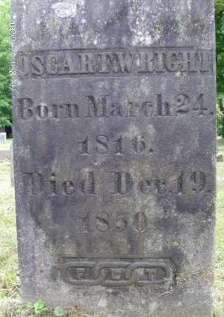 WRIGHT, OSCAR F - Greene County, New York   OSCAR F WRIGHT - New York Gravestone Photos