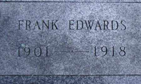 EDWARDS, FRANK - Hamilton County, New York | FRANK EDWARDS - New York Gravestone Photos