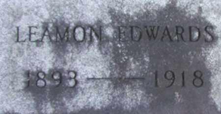 EDWARDS, LEAMON - Hamilton County, New York   LEAMON EDWARDS - New York Gravestone Photos