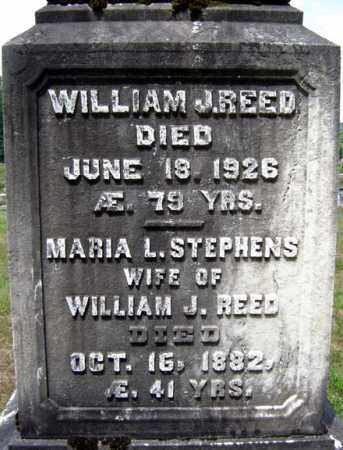 STEPHENS REED, MARIA L - Hamilton County, New York | MARIA L STEPHENS REED - New York Gravestone Photos