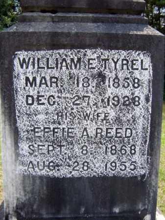 TYREL, WILLIAM E - Hamilton County, New York | WILLIAM E TYREL - New York Gravestone Photos