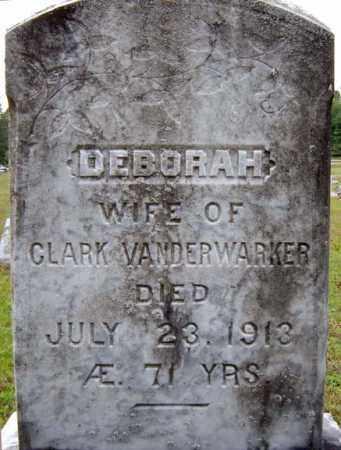 VAN DERWARKER, DEBORAH - Hamilton County, New York | DEBORAH VAN DERWARKER - New York Gravestone Photos