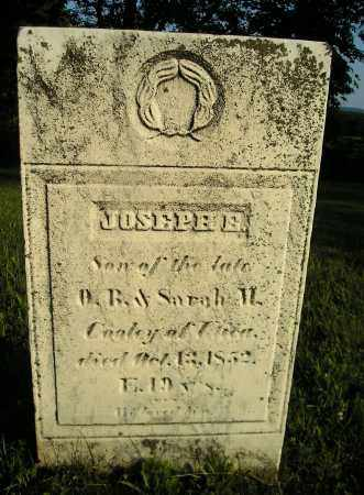 COOLEY, JOSEPH E - Herkimer County, New York | JOSEPH E COOLEY - New York Gravestone Photos