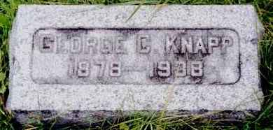 KNAPP, GEORGE C - Herkimer County, New York | GEORGE C KNAPP - New York Gravestone Photos