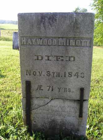 MINOTT, HOWARD HAYWOOD - Herkimer County, New York | HOWARD HAYWOOD MINOTT - New York Gravestone Photos