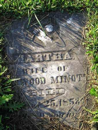 MINOTT, MARTHA - Herkimer County, New York | MARTHA MINOTT - New York Gravestone Photos