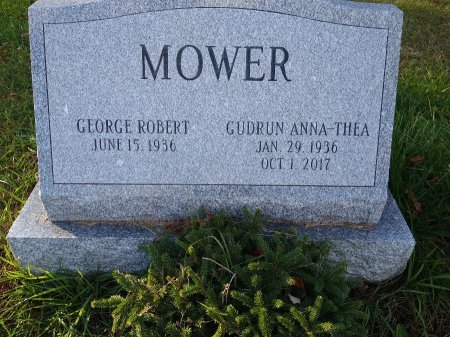 MOWER, GUDRUN ANNA-THEA - Herkimer County, New York | GUDRUN ANNA-THEA MOWER - New York Gravestone Photos