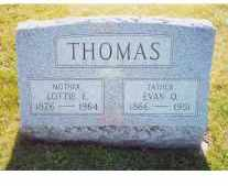 NIBBS THOMAS, LOTTIE - Herkimer County, New York | LOTTIE NIBBS THOMAS - New York Gravestone Photos