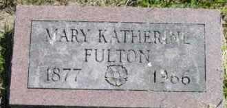 FULTON, MARY KATHERINE - Jefferson County, New York   MARY KATHERINE FULTON - New York Gravestone Photos