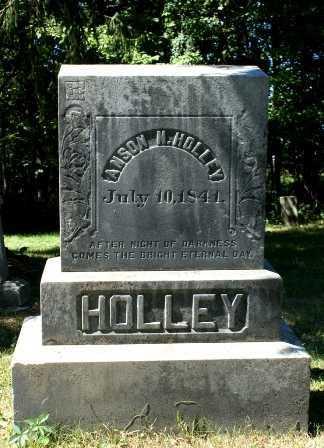 HOLLEY, ANSON N. - Jefferson County, New York | ANSON N. HOLLEY - New York Gravestone Photos
