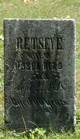 READ, RETSEY E. - Jefferson County, New York | RETSEY E. READ - New York Gravestone Photos
