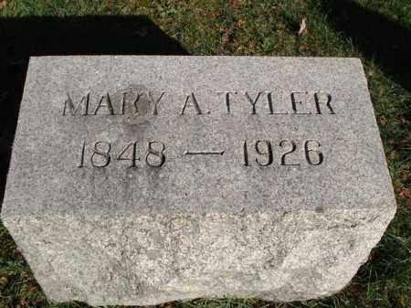 GRATZ TYLER, MARY ANN - Jefferson County, New York | MARY ANN GRATZ TYLER - New York Gravestone Photos