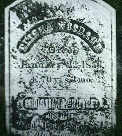 WOODARD, CHRISTIAN - Jefferson County, New York | CHRISTIAN WOODARD - New York Gravestone Photos