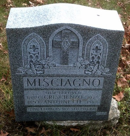 MUGNOLO MISCIAGNO, ANTOINETTE - Kings (Brooklyn) County, New York | ANTOINETTE MUGNOLO MISCIAGNO - New York Gravestone Photos