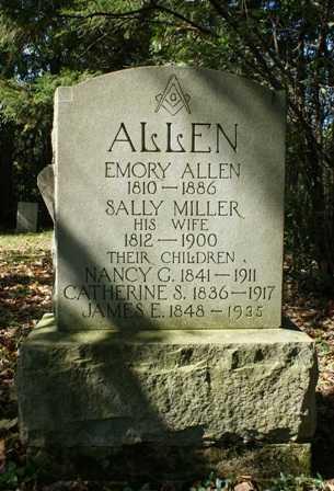 ALLEN, CATHERINE S. - Lewis County, New York | CATHERINE S. ALLEN - New York Gravestone Photos