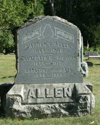 ALLEN, CARLTON - Lewis County, New York   CARLTON ALLEN - New York Gravestone Photos