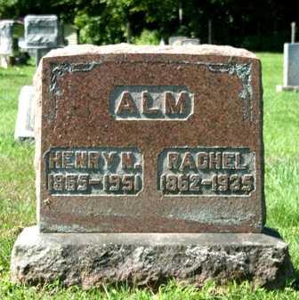 ALM, RACHEL - Lewis County, New York | RACHEL ALM - New York Gravestone Photos