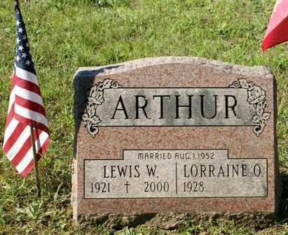 ARTHUR, LEWIS W. - Lewis County, New York | LEWIS W. ARTHUR - New York Gravestone Photos