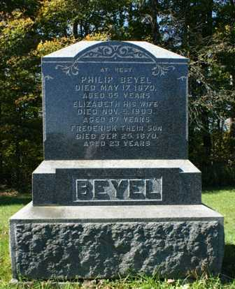 BEYEL, ELIZABETH - Lewis County, New York | ELIZABETH BEYEL - New York Gravestone Photos