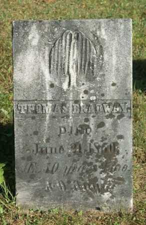 BRADWAY, THOMAS - Lewis County, New York | THOMAS BRADWAY - New York Gravestone Photos