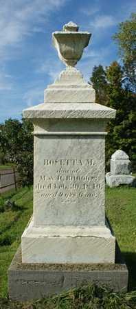 BROOKS, ROSETTA M. - Lewis County, New York   ROSETTA M. BROOKS - New York Gravestone Photos