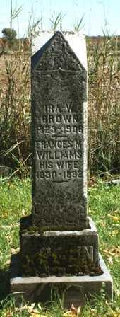 WILLIAMS, FRANCES M - Lewis County, New York   FRANCES M WILLIAMS - New York Gravestone Photos