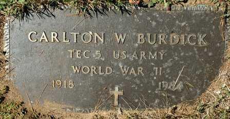 BURDICK, CARLTON W. - Lewis County, New York | CARLTON W. BURDICK - New York Gravestone Photos