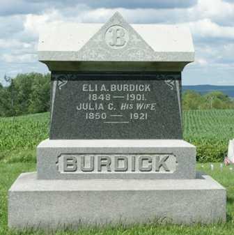 BURDICK, JULIA C. - Lewis County, New York | JULIA C. BURDICK - New York Gravestone Photos