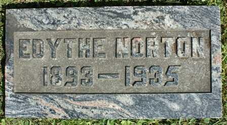 BURDICK, EDYTHE - Lewis County, New York | EDYTHE BURDICK - New York Gravestone Photos