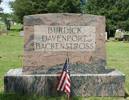 BURDICK, FAMILY MONUMENT - Lewis County, New York | FAMILY MONUMENT BURDICK - New York Gravestone Photos