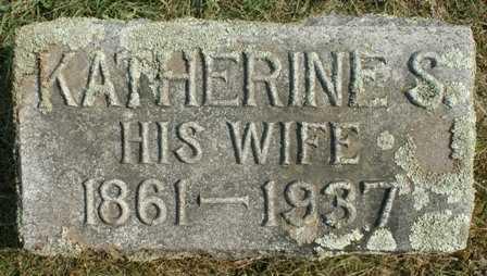 BURDICK, KATHERINE S. - Lewis County, New York | KATHERINE S. BURDICK - New York Gravestone Photos