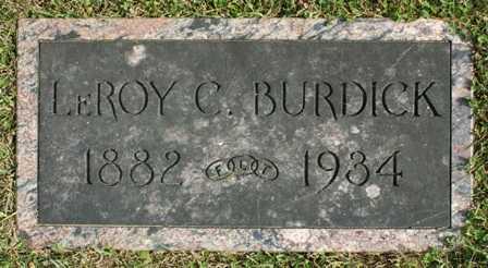 BURDICK, LEROY C. - Lewis County, New York | LEROY C. BURDICK - New York Gravestone Photos