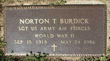 BURDICK, NORTON T. - Lewis County, New York | NORTON T. BURDICK - New York Gravestone Photos