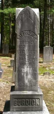 BURDICK, HARRIET A. - Lewis County, New York | HARRIET A. BURDICK - New York Gravestone Photos