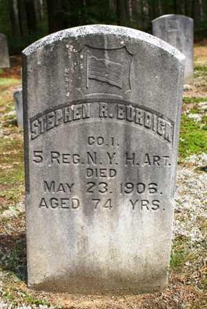 BURDICK, STEPHEN R - Lewis County, New York | STEPHEN R BURDICK - New York Gravestone Photos