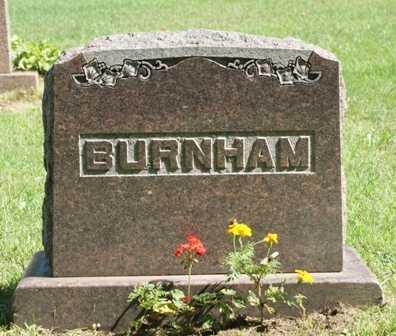 BURNHAM, BERT M. FAMILY MONUMENT - Lewis County, New York | BERT M. FAMILY MONUMENT BURNHAM - New York Gravestone Photos