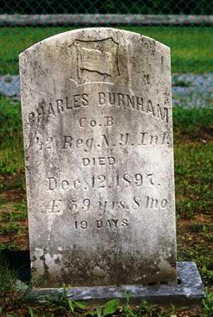 BURNHAM, CHARLES - Lewis County, New York   CHARLES BURNHAM - New York Gravestone Photos