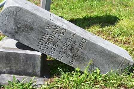 BURNHAM, ELIZABETH A. - Lewis County, New York | ELIZABETH A. BURNHAM - New York Gravestone Photos