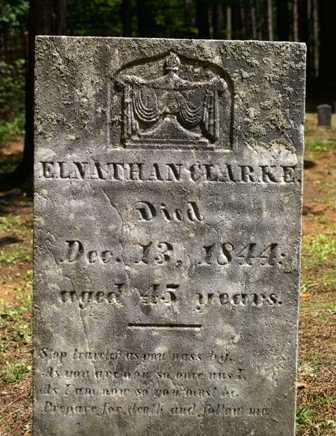 CLARKE, E. L. NATHAN - Lewis County, New York | E. L. NATHAN CLARKE - New York Gravestone Photos