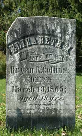 COLLINS, ELIZABETH M. - Lewis County, New York   ELIZABETH M. COLLINS - New York Gravestone Photos
