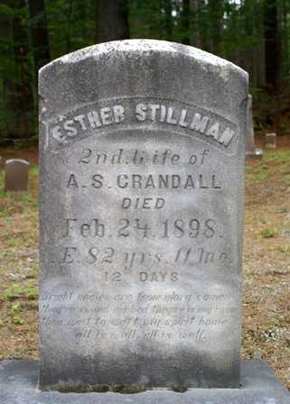 STILLMAN, ESTHER - Lewis County, New York | ESTHER STILLMAN - New York Gravestone Photos